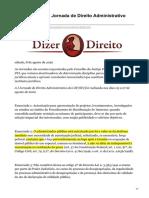 dizerodireito.com.br-Enunciados da I Jornada de Direito Administrativo CJFSTJ.pdf