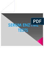 SERUM ENZYME TESTS