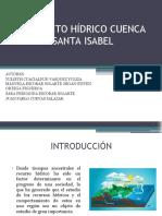 PROYECTO HÍDRICO CUENCA SANTA ISABEL FINAL