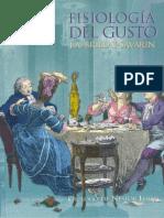 Fisiologia del gusto - Jean Anthelme Brillat-Savarin