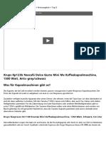 164931Die Kaffeemaschine Tabs Test Anleitung ++ Mehr erfahren