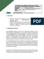 Práctica #5 Fuerzas intermoleculares (2)