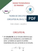 C. CIRCUITOS RL EN EL TIEMPO