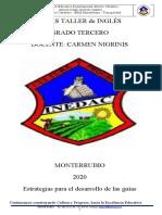 GUIA TALLER INGLES GRADO 3ro