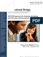MENTOR Instructional Design