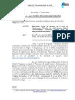 OFICIO MULTIPLE 138 2020
