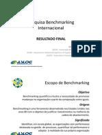 Aslog 20101110 Benchmarking Internacional - Apresentação Slides