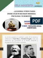 ESCUELA MARXISTA-INGRID MACHADO -MARIA OVIEDO