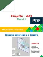 Descriptiva y perspectiva_ AA3_Proyecciones de un objeto tridimensional