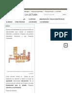 LA LECTURA - Universidad de Extremadura