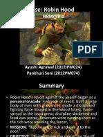 Robin Hood Case -Stratgic Analysis