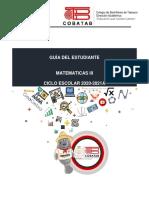Tercer Semestre.- Guía Didáctica del Estudiante.- Matemáticas III
