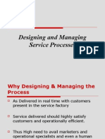 Ch-8 Designing and Managing service processes