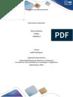 conceptos previos- ESTRUCTURA MOLECULAR