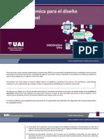 Matriz académica del aula virtual