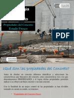 PROPIEDADES DEL CONCRETOEN ESTADO FRESCO