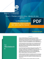 Tarea 3 - Plantear problema ético - estudio de caso general