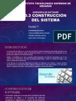 3.3 Construcción del sistema
