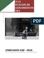 Guia Para La Implementacion de Biciestacionamientos en Arequipa