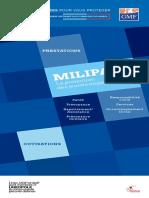 Livret cotisations et prestations Milipass