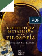 ESTRUCTURA METAFÍSICA DE LA FILOSOFÍA
