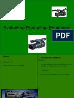 Evaluating Production Equipment