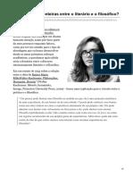 Quais são as fronteiras entre o literário e o filosófico.pdf