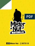 Mister Nut - Carta 2020