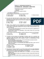 1.ORDEN DE INFORMACIÓN - MENTIRAS Y VERDADES