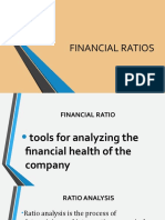 No. 5 FINANCIAL RATIOS