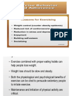 ppt exercise theories