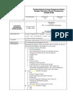 SPO Pemberlakuan Zonasi dalam Memutus rantai penyebaran COVID di RS