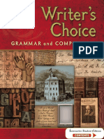 Writer's Choice Glencoe Complete Book