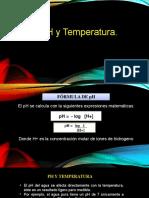 ph y temperatura