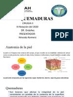 PRESENTACION DE QUEMADURAS EN GENERAL
