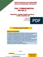 COSTOS Y PRESUPUESTOS SESION 7 Y 8