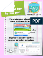 ✨Fichas descriptivas de alumno y de grupo - Materiales Zany