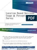 LBS Usage and Perceptions Survey Presentation