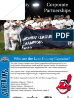 2011 Lake County Captains Corporate Partnership Opportunities