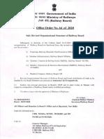 Reviser Organisational structure railway board
