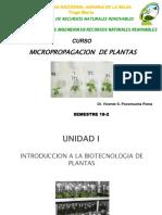 CAP I SESION 1 INRODUCCION A LA BIOTECNOLOGIA