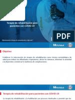 14. Terapia de rehabilitación para pacientes con COVID-19.