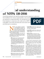 A practical understanding of NFPA 110_2016