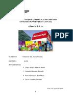Análisis de Planeamiento Estratégico de Alicorp-Paucar Donayre Ibet Maria