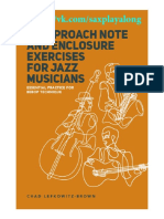 15 Approach Note Enclosure Exercises for Jazz Musicians.pdf