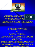 PPT-CYBERLAW-EXISTING-CYBER-LEGAL-ISSUES-REGIMES-CHALLENGES-PAVAN-DUGGAL