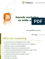 fazendo marketing na midia social