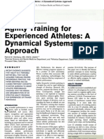 Agility Training for Experienced Athletes A Dynamical Systems Approach