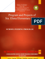 Reports and Programs of Sta. Elena