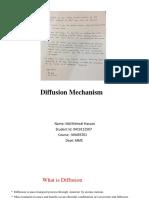 Diffusion mechanism final